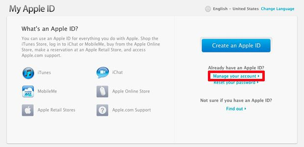 how to know my apple id