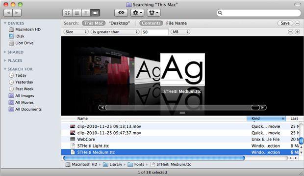 liberare spazio sul Mac