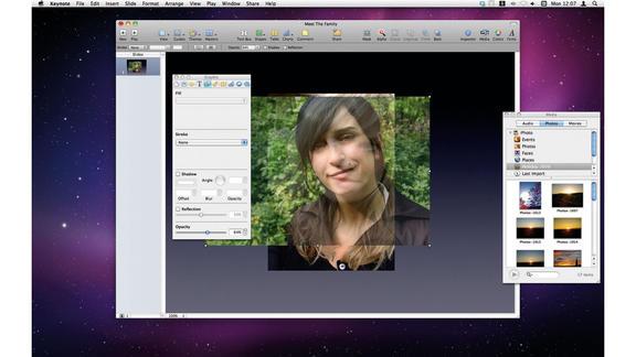 animazioni facciali keynote