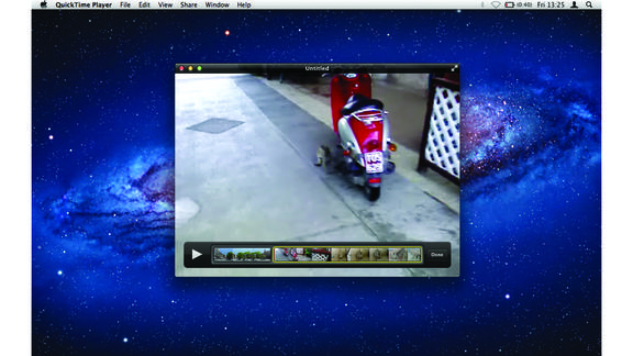 quicktime modifica video
