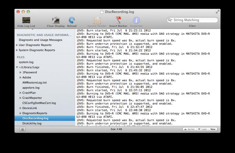Salvare spazio Mac