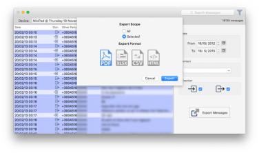 Come salvare sul Mac i messaggi (sms) dell'iPhone