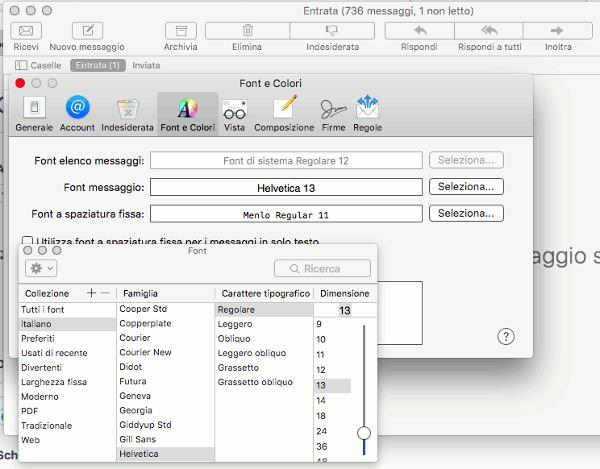 schermata-impostazioni-font-mail