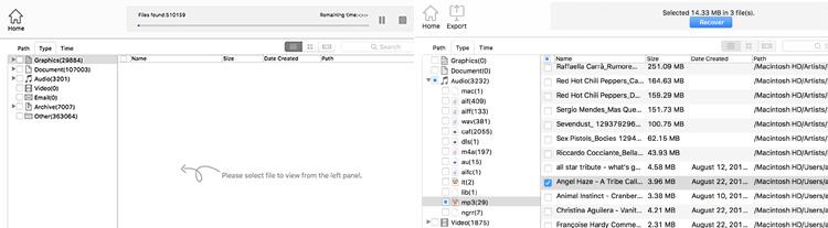 easeus recupero file cancellati dal mac