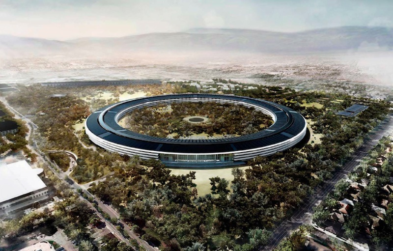 apple campus spaceship