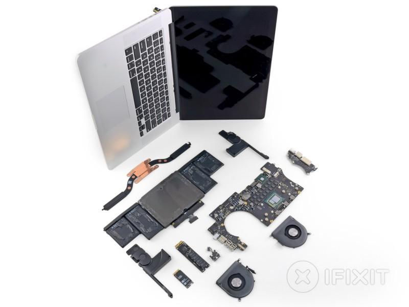 ifixit analizza i nuovi macbook pro