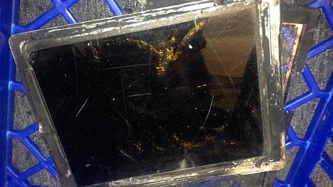 esplosione di iPad