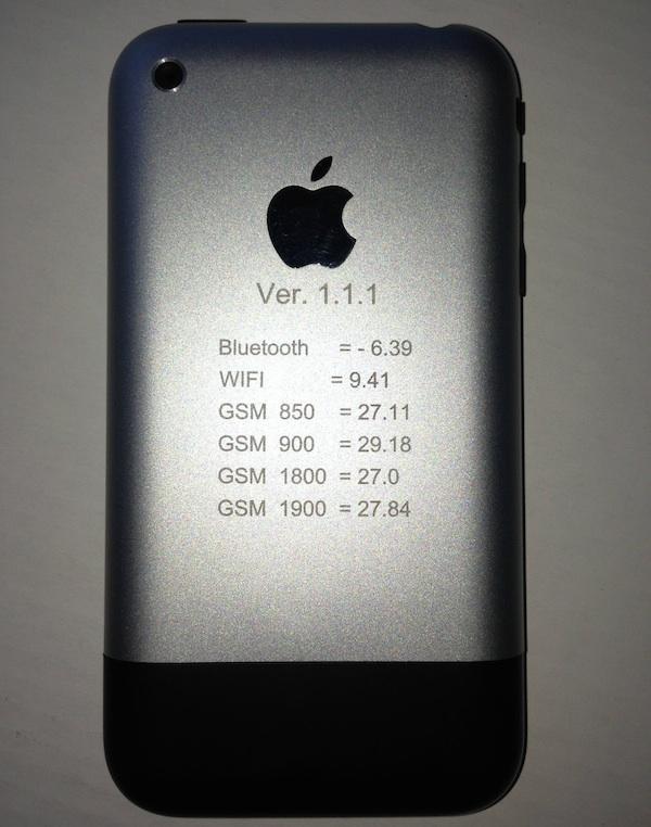 iphone prototipo