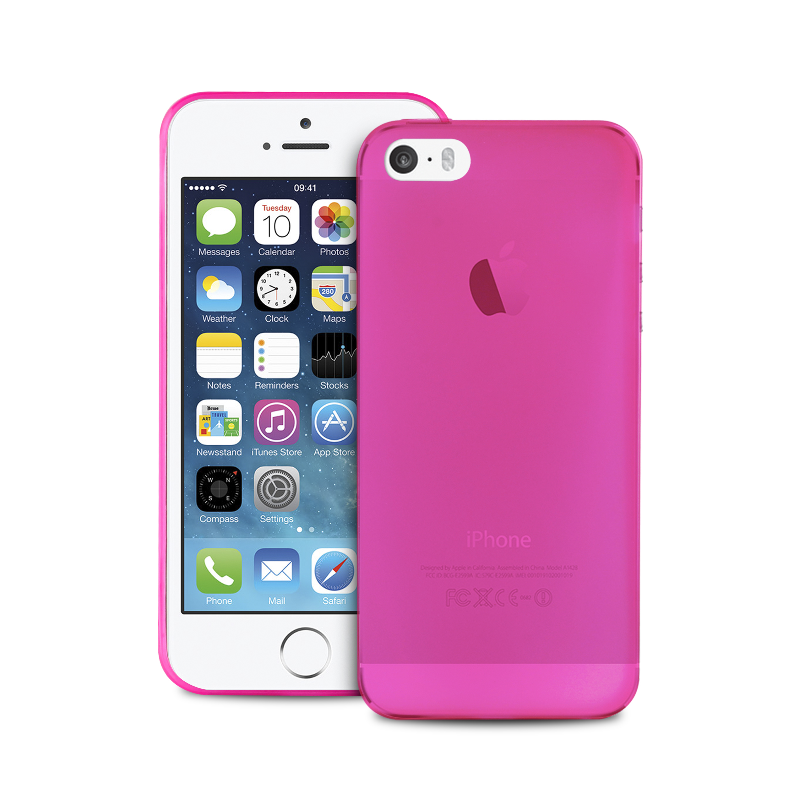 custodia iphone se rosa