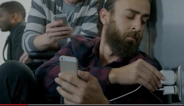 pubblicità iphone