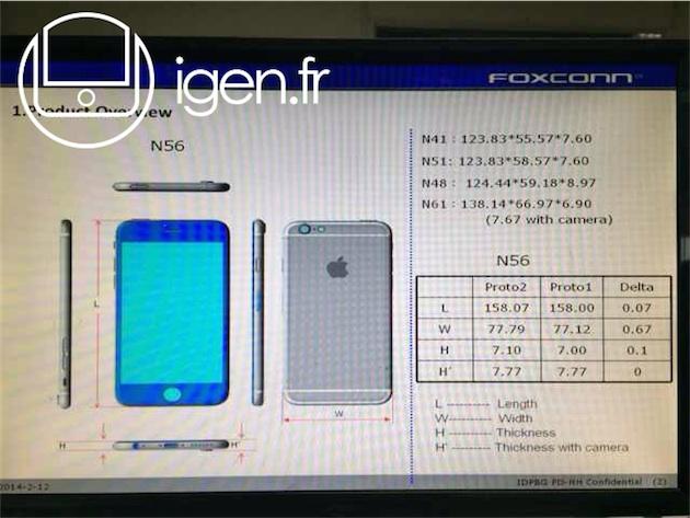 dimensioni iphone 6