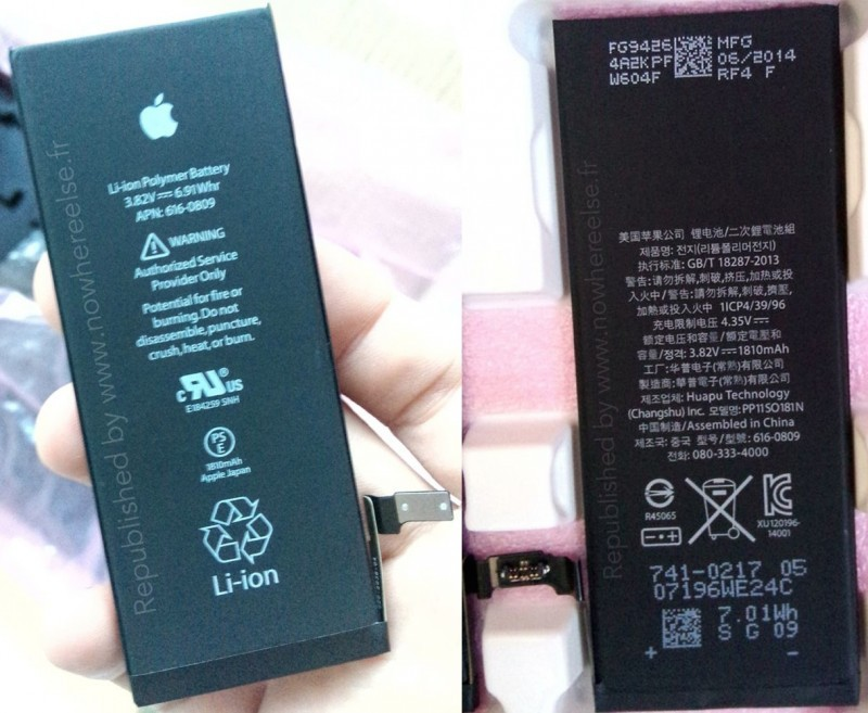 iphone 6 batteria