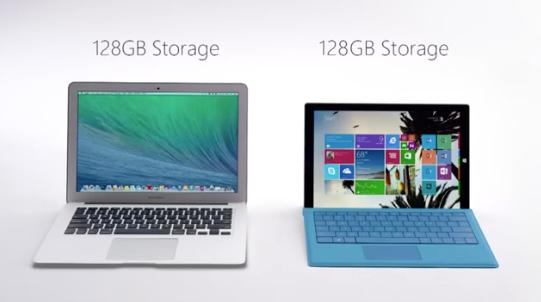 surface macbook air