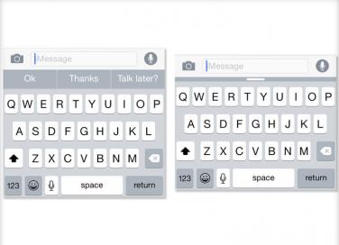 Tutorial: Come utilizzare QuickType su iOS 8