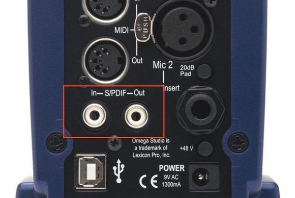 interfaccia audio
