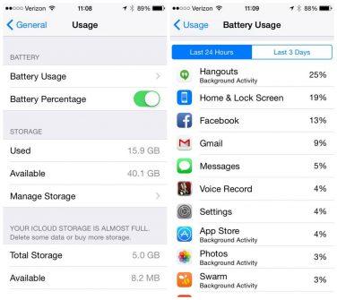 Come risparmiare la batteria dell'iPhone