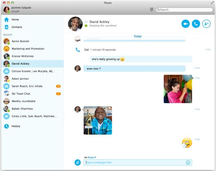 skype per mac