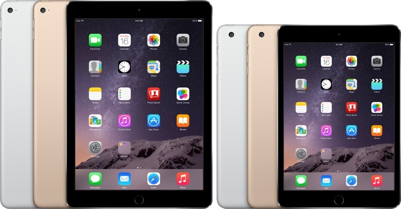 ipad mini 3 iPad air 2