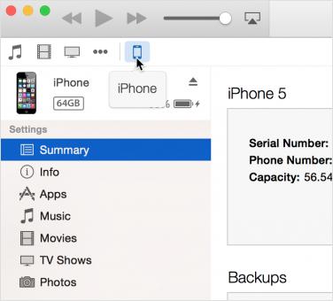 Come si fa a sincronizzare l'iPhone con iTunes