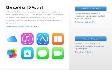 Come cambiare ID Apple e la password per iCloud