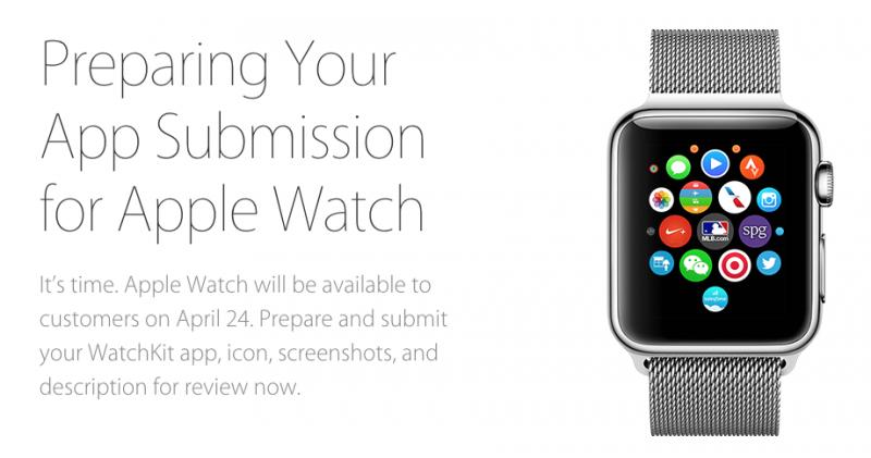 applicazioni apple watch