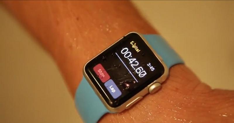 apple watch impermeabile