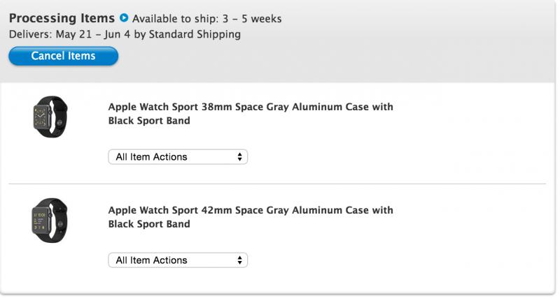 Apple watch maggio