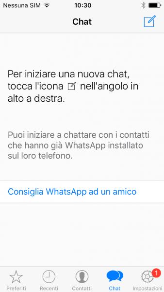 Come chiamare con Whatsapp