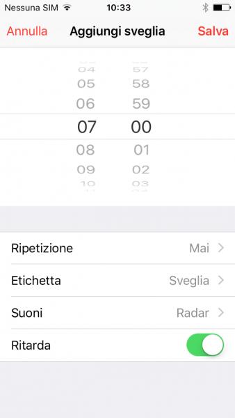 Come cambiare la suoneria della sveglia nel tuo iPhone