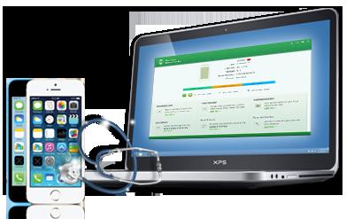 iPhone Care pro, trasferire files da PC ad iPhone