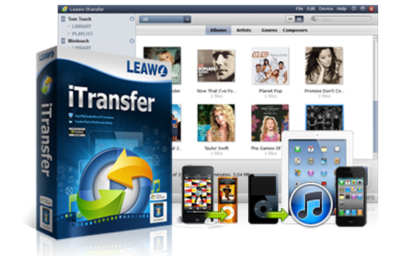 Leawo iTransfer, gestire i files tra PC e iPhone