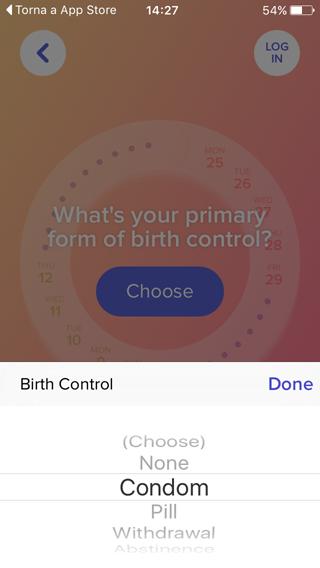 Eve app per iPhone