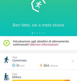 Fitbit App per iPhone