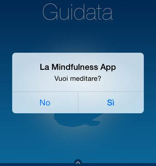 La Mindfulness app per iPhone