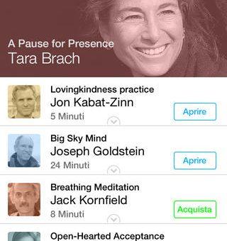 La Mindfulness App per iPhone