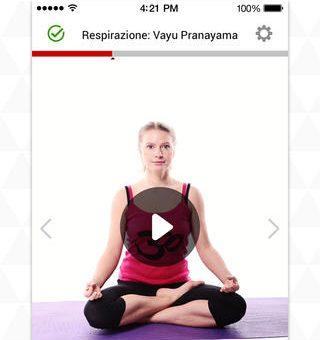 Yoga.com app per iPhone