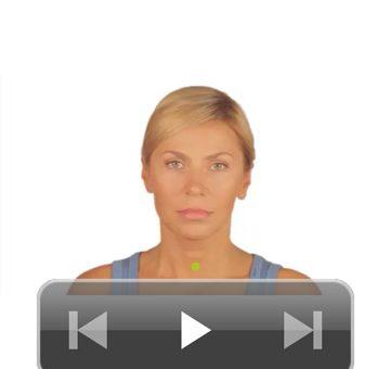Ginnastica facciale, app femminile per iPhone