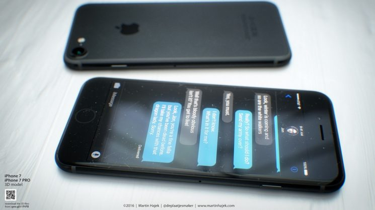 iPhone 7 nero siderale