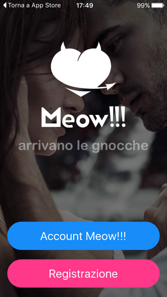 Recensione Meow flirt app