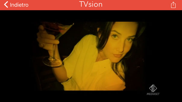 Recensione app Tvsion iPhone