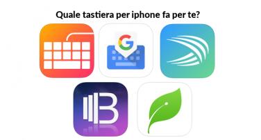 App Tastiera per iPhone e iPad le applicazioni per tutte le necessità