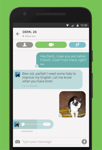 tandem app iphone impara le lingue