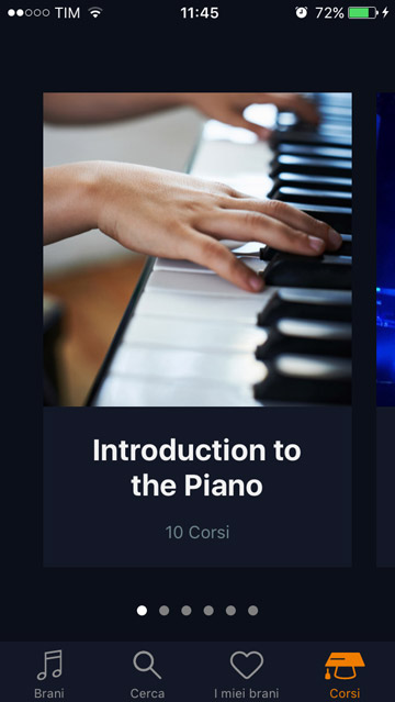 flowkey app iphone per imparare a suonare il pianoforte