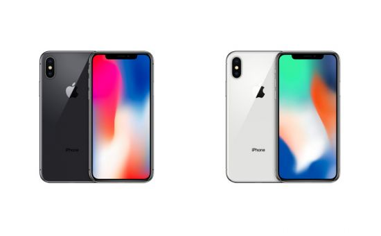 Le due colorazioni di iPhone X
