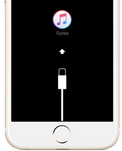La schermata dell'iPhone 7 in caso la procedura di ripristino abbia successo