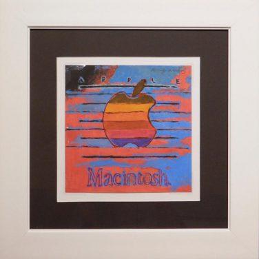 "All'asta il dipinto ""Macintosh"" di Andy Warhol"
