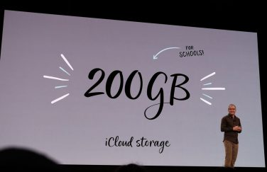 Apple regala 200GB iCloud a studenti e insegnanti