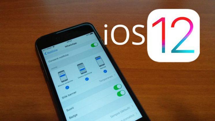Notifiche iOS 12 come funzionano e come usarle su iphone e ipad