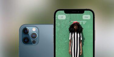 iPhone 12 Pro misura l'altezza delle persone